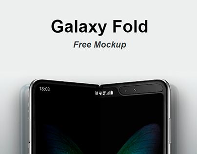 Galaxy Fold - Free Mockup