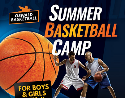 Basketball Camp Flyer Templates