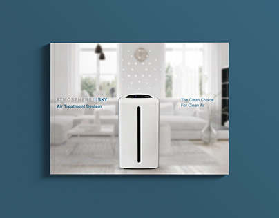Amway ATMOSPHERE SKY Booklet Design