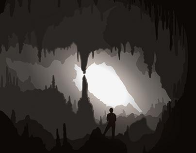 Desde el Interior de una cueva