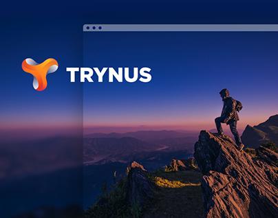Trynus - Branding & Landing page