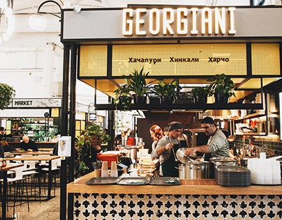 GEORGIANI logo&menu design