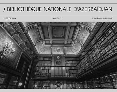 Bibliothèque Nationale D'Azerbaïdjan