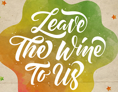 'Leave The Wine To Us' Trinchero Wine Ad
