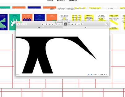 Striga — a typeface in three styles
