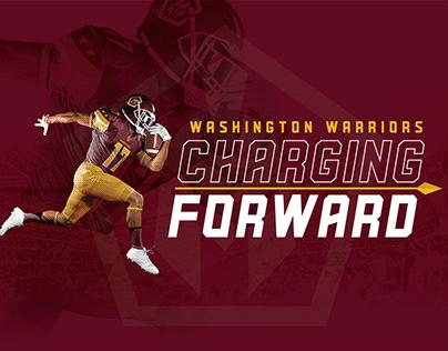 Washington Redskins Warriors Rebranding