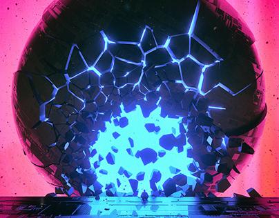 Neon Shatter Series