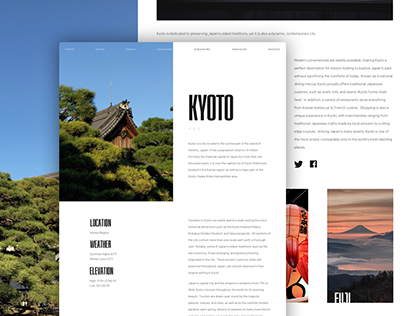 Article Layouts for a personal project