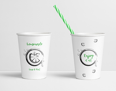 Paper cup for soft drinks