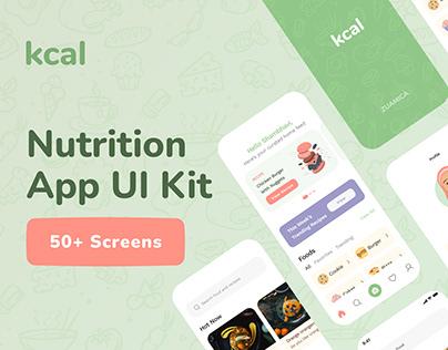 🥗 Nutrition App UI Kit