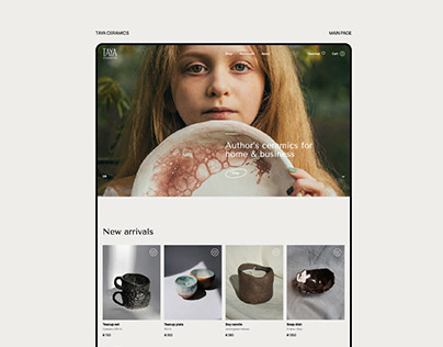 Taya Ceramics - Website