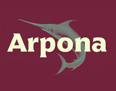 Arpona Typeface
