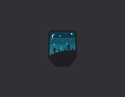 Nighttime Badge