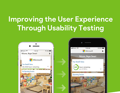 Improving the User Experience Through Usability Testing
