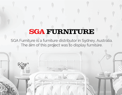 SGA Furniture - Website