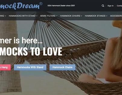 Hammock dream ecommercce store