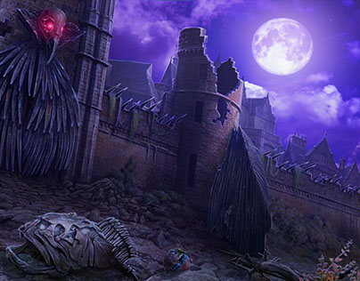 Art for the Hidden Object game MCF:Ravenhearst Unlocked
