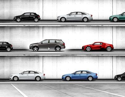 Audi ˙ the biggest parking deck