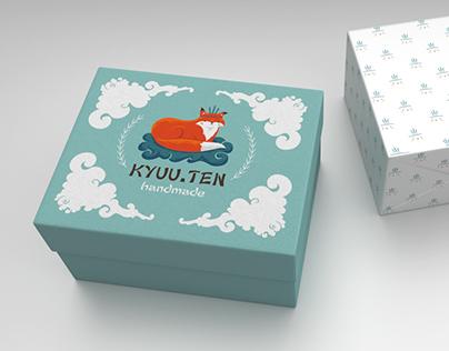Kyuu.ten logo&package