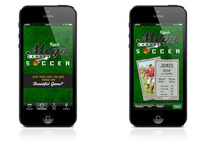 Mega League Soccer - App UI/UX Illustration/Design