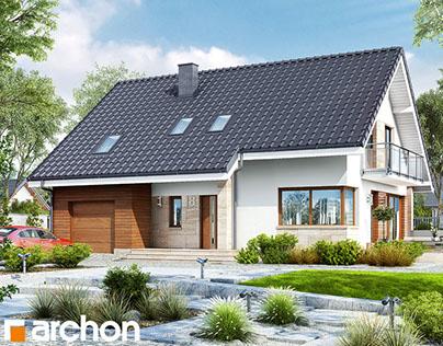 Projekt: Dom w idaredach (A)