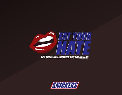 Eat Your Hate - Ganadora ORO en Brother Barcelona.