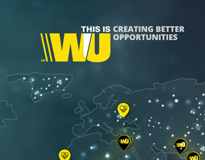 Western Union - Web design