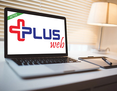 Logo Redesign for Plus Web
