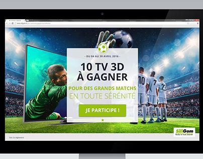 Jeux Concours : Gagne ta TV 3D avec Siligom