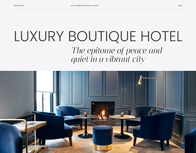 Hotel Redesign Concept