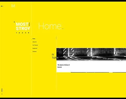 LTD Moststroy webdesign