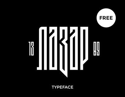 Lazar 1389 FREE Font