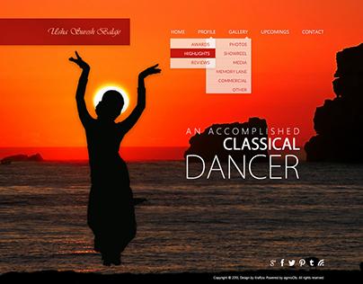 Classical Dancer Portfolio