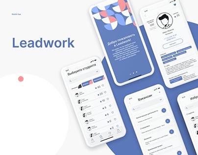 Leadwork/mobile app