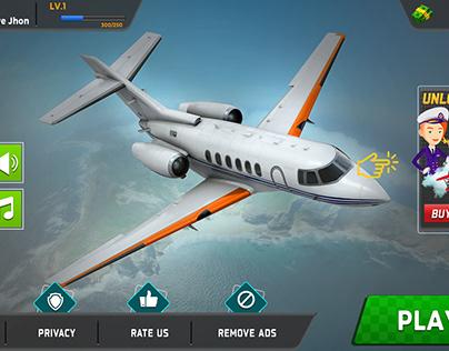 Aeroplane Game Ui