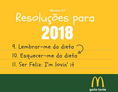 Resoluções 2018 McDonalds