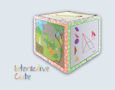 Interactive cube design