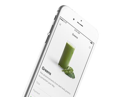 Juicero Habit iOS