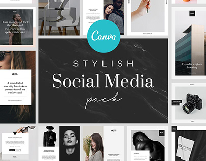 Stylish Canva Social Media Pack