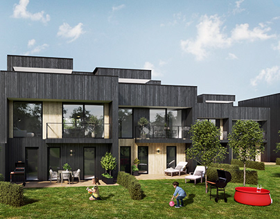 Residential complex in Sweden