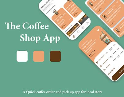 The Coffee Shop App