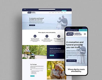 Alabama Cremation Website Design + Development