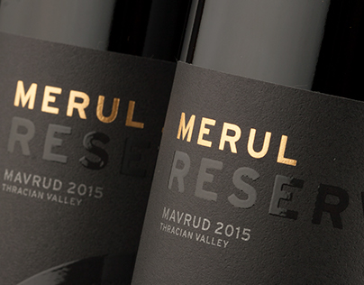 Merul Wine Labels by the Labelmaker