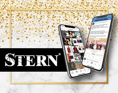 STERN   разработка дизайна оформления социальных сетей