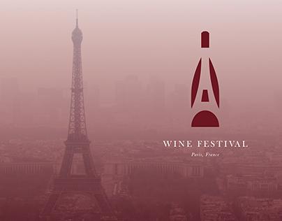 French Wine Festival Logo