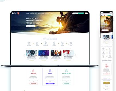 GKPXPrime Website Design