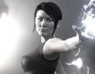 Dulce es Lucy Kuo En Infamous 2