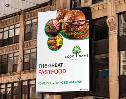 Billboard Flyer Design