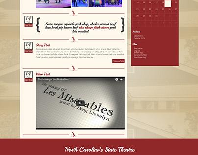 Flat Rock Playhouse Website Design