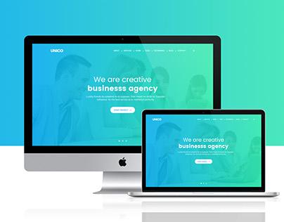 Digital Agency - Landing Page